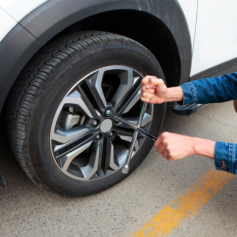 Купить с кэшбэком WORKPRO Cross Wrench Auto Tyre Remover Socket Wrench Car Repair Tools Mounting Spanner