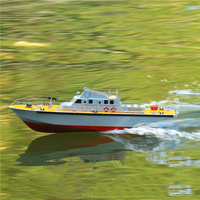 DIY Speedboat Ship Model Making Kit, Inland Patrol Boat MK Torpedo Boat, Remote Control Simulation, Ship Model