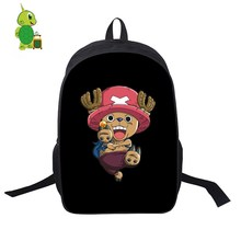 One Piece Luffy Zoro Law Backpack Women Men Daily Backpack School Bags For Teenagers Students Laptop Casual Backpack Travel Bags цена