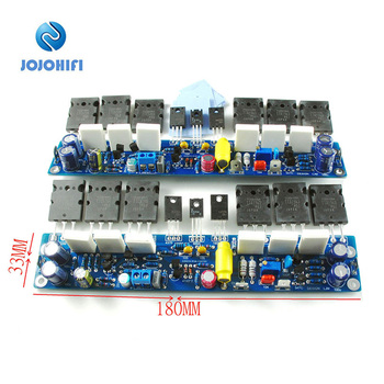 цена на One Pair (2pcs) L10 Class AB 4R 2 Channel Dual Channel Transistor A1930 C5171 BC546B Amplifier Amp Power Board Finished Board