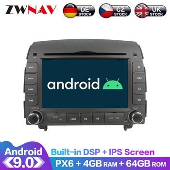 Android 10 IPS Screen PX6 DSP For Hyundai Sonata NF 2005 - 2008 Car DVD GPS Multimedia Player Head Unit Radio Navi Audio Stereo android 9 0 ips screen px6 dsp for kia soul 2014 2015 2016 2020 car no dvd gps multimedia player head unit radio audio stereo