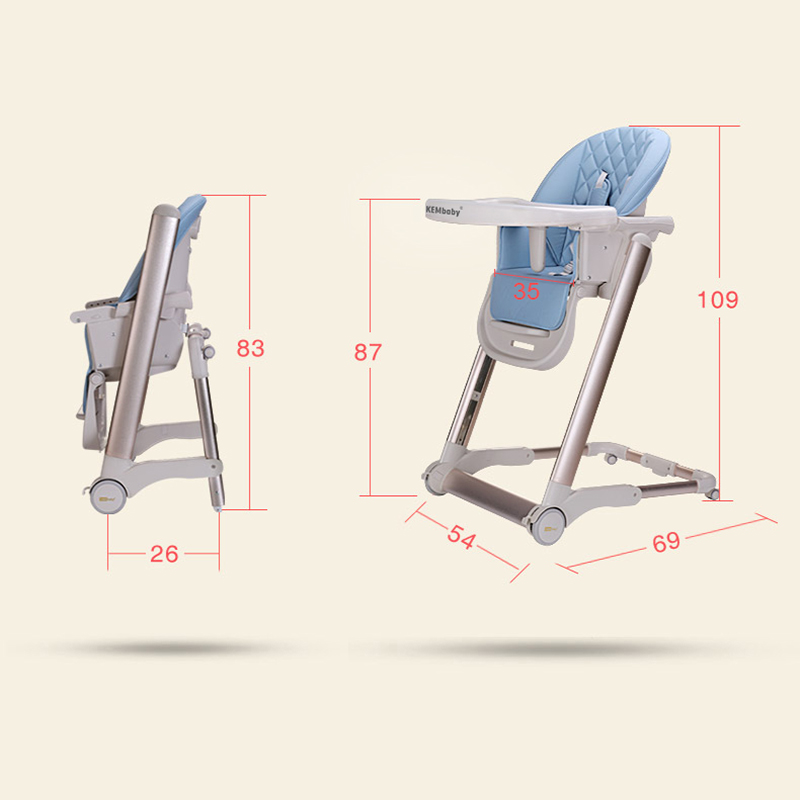 Baby Adjustable Feeding High Chair