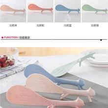 Горячая Лучший милый пластиковый ПП Мультфильм домашняя кухня в форме белки ложка для риса суп соус лопастной ковш случайный цвет