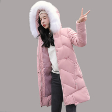 Winter Long Parkas jacket 2019 winter new down parkas womens