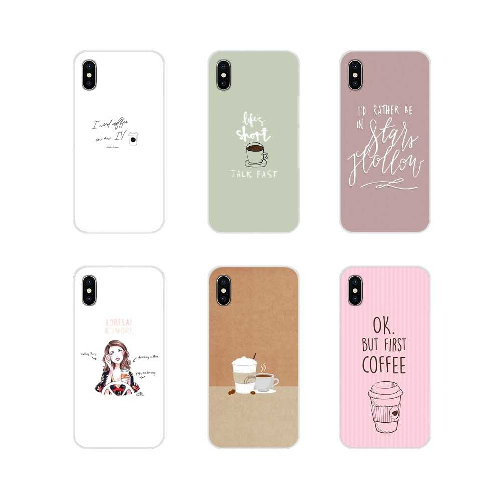 For Xiaomi Redmi 4A S2 Note 3 3S 4 4X 5 Plus 6 7 6A Pro Pocophone F1 Gilmore Girls coffee Accessories Phone Cases Covers