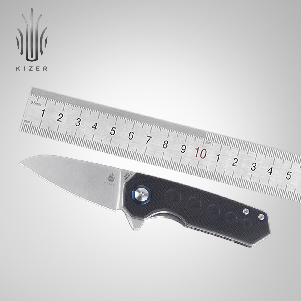 Kizer folding knife V2541 Lieb designed by Azo 2 4 inch blade knife tactical knife for outdoor camping