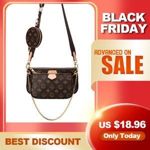 Модная Роскошная брендовая сумка 3 в 1, сумка-мессенджер, кожаная сумка Majhong 2020, сумка-тоут через плечо, клатч, новая сумка-тоут на плечо