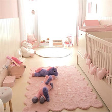 Oversized Origin Biscuit Baby Mat Play 150*110cm Children Bedroom Rugs Baby Gyms Playmats Nordic Decor Carpet Photo Shoot Props