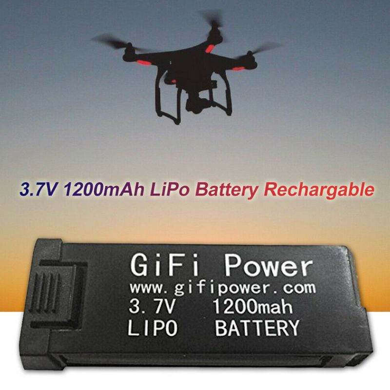 Power <font><b>Lipo</b></font> <font><b>Battery</b></font> <font><b>3.7V</b></font> <font><b>1200mAh</b></font> Replacement Electronic For JY019 S168 E58 M68 image