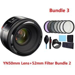 Image 4 - YONGNUO Lens YN50mm f1.8 YN EF 50mm f/1.8 AF Lens YN50 Aperture Auto Focus Lens for Canon EOS 60D 70D 5D2 5D3 600d DSLR Cameras