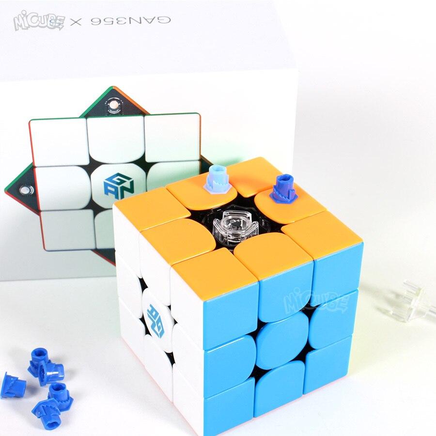 Puzzle Cube GAN356xs Cube magnétique Gan356 XS 3x3x3 Gan 356xs Cube magnétique 3x3x3 Cube de vitesse magique 3x3 Cubo Magico magnétique - 5