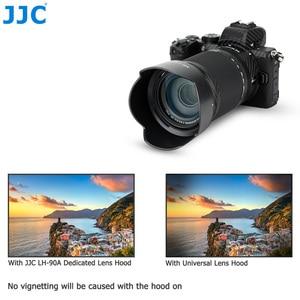 Image 5 - JJC 花びらスタイルバヨネットレンズフードニコンニッコール Z DX 50 〜 250 ミリメートル f/4.5 6.3 VR レンズニコン Z50 置き換え HB 90A レンズ