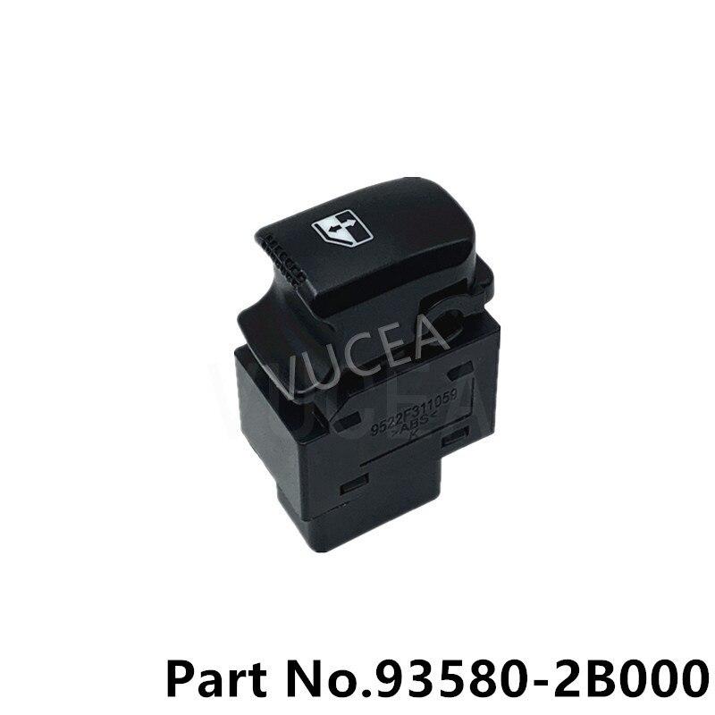 Мощность окна Sub переключатель задний левый RH для SANTA FE 2007 2008 2009 2010 2011 2012 935802B000 935802B500 93580-2B000 935812B000