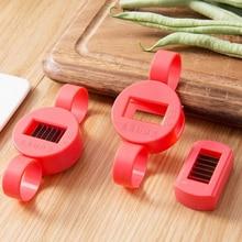 Beans cutters plastic stainless steel lentils green beans peas multi-function cut silk artifact creative kitchen gadgets