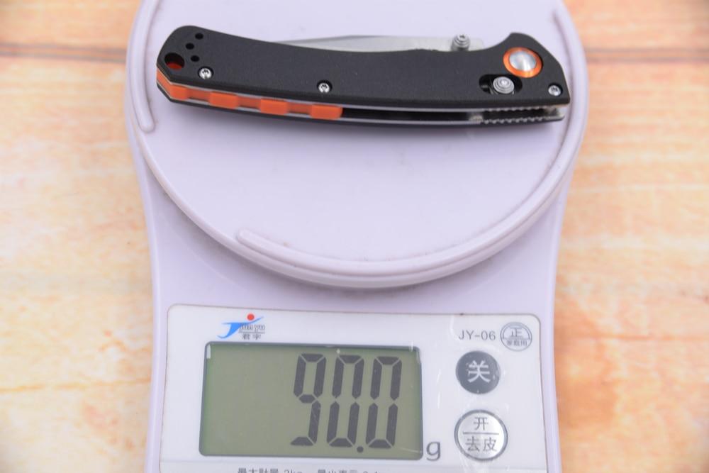 Knife Utility Folding D2 Handle Survival Camping EDC 2020 Mark Mini Tool Crooked River Nylon Pocket Fruit Blade Hunting Fiber