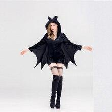 Vampire Batman Goddess Costume Halloween Christmas for Women Adult
