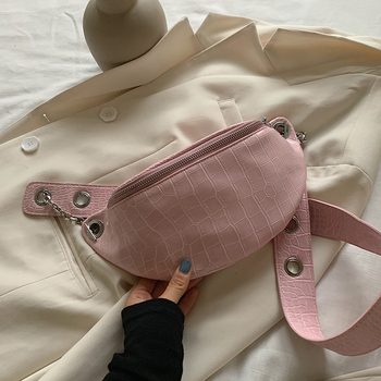 Small Stone Pattern PU Leather Crossbody Bags For Women 2020 Summer Fashion Shoulder Handbags Female Travel Cross Body Bag