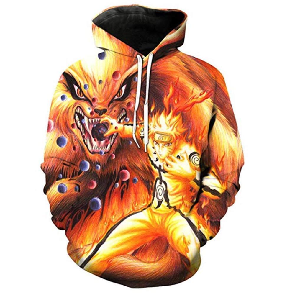 Anime Naruto Cosplay Clothes Costumes Men 3D Hoodies Sweatshirts Uzumaki Akatsuki Haruno Sakura Hat Clothing Homme Hooded Tops