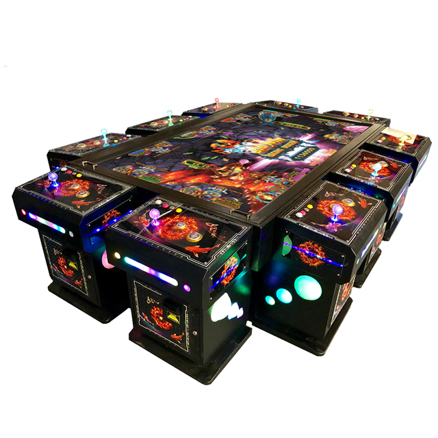 Customized Multi Gambling Arcade Fish Game Machine Ocean King 3 Plus Poseidon's Realm 4