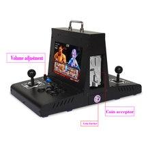 10 дюймовый lcd pandora box dx bartop мини аркадная машина/pandora