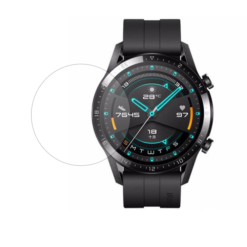 Protective-Film Cover Smartwatch Tempered-Glass Clear Full-Screen-Protector Active/elegant title=
