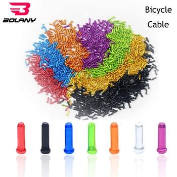 Ponteiras de cabo de bicicleta, ponteiras de cabo de bicicleta com alavanca de câmbio, 50/pçs/lote