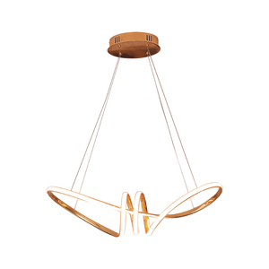 Image 5 - Chrome or Gold plated hanglamp led Pendant Lights For Dining Room Kitchen nordic lamp Home Deco Pendant Lamp Fixture
