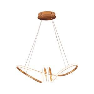 Image 5 - Chromowane lub pozłacane hanglamp wisiorek led światła do jadalni kuchnia lampa w stylu nordyckim Home Deco wisiorek żyrandol