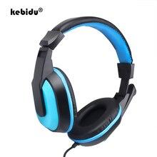 Kebidu Professionalชุดหูฟังเกมสเตอริโอหูฟังสำหรับเล่นเกม3.5มม.ชุดหูฟังPCของขวัญแฟชั่นสำหรับGamer Boy
