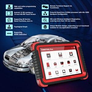 """Image 4 - Thinkcar thinktool prós ferramenta de diagnóstico automático 10 """"sistema completo adas obd2 scanner código 28 função redefinir programa em linha pk x431 v +"""