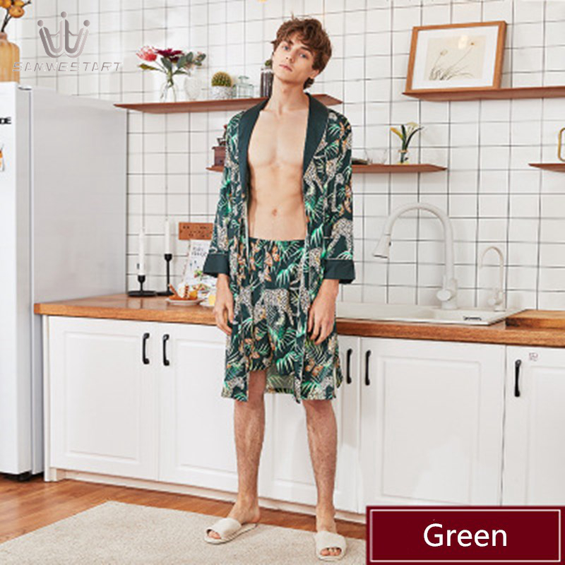 2020 Men's Pajamas Male Pyjama Spring Autumn Short Sleep Bottoms Lounge Pants Sleepwear Elastic Waist Homewear Leisure Outwear