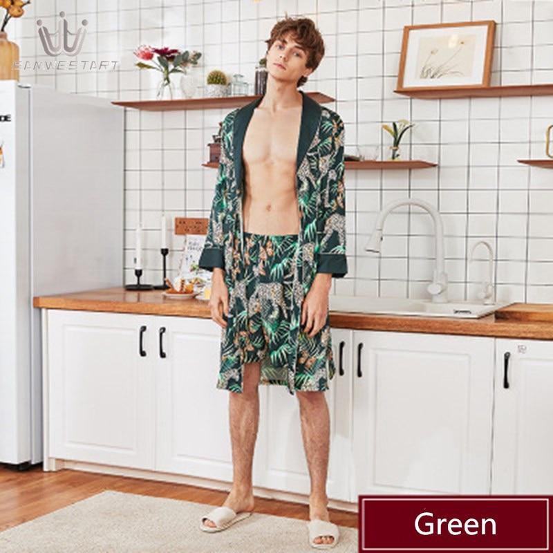 2020 Men's Pajamas Male Pyjama Spring Autumn Short Sleep Bottoms Lounge Pants Sleepwear Elastic Waist Homewear Leisure Outwear