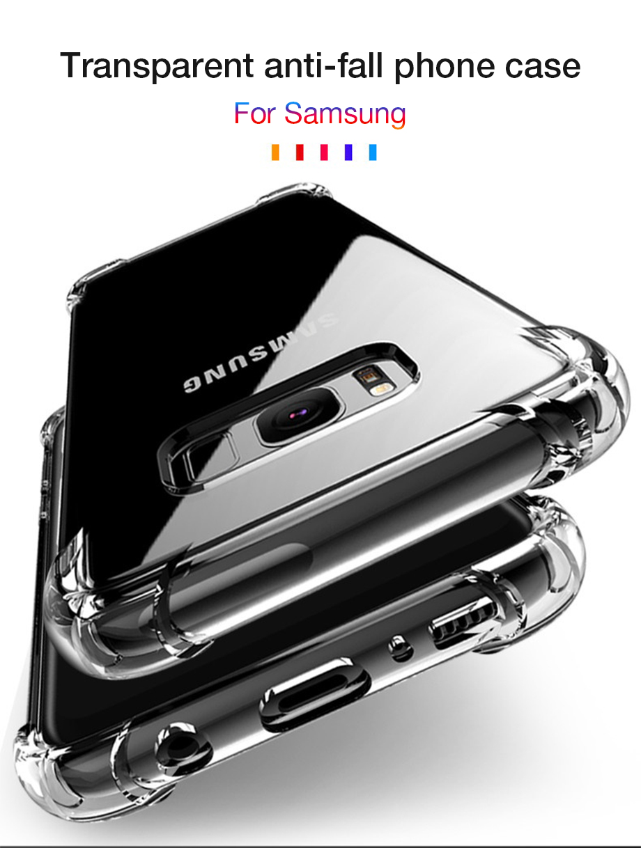 Ha9976c6c1ef046b2a9e30d1b2bb52073T - Shockproof Case for Samsung Galaxy S10 Plus lite S10e S20 S8 S9 plus Silicone Phone Cases on for Samsung Note 10 9 8 Back Cover