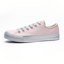 2020 New Canvas Shoes Women student Skateboard Shoe