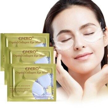 5Pair Crystal Collagen Eye Mask Anti Aging Anti-puffiness Dark Circle Anti Wrinkle Moisture Cream Eye Patches Face Care Eye Mask