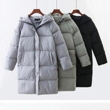 Down Parka Women Winter Coat Long Jacket Windbreaker Women's Parkas Winter Warm Thick Cotton Hooded Jaqueta Outwear Female 2019 цены онлайн