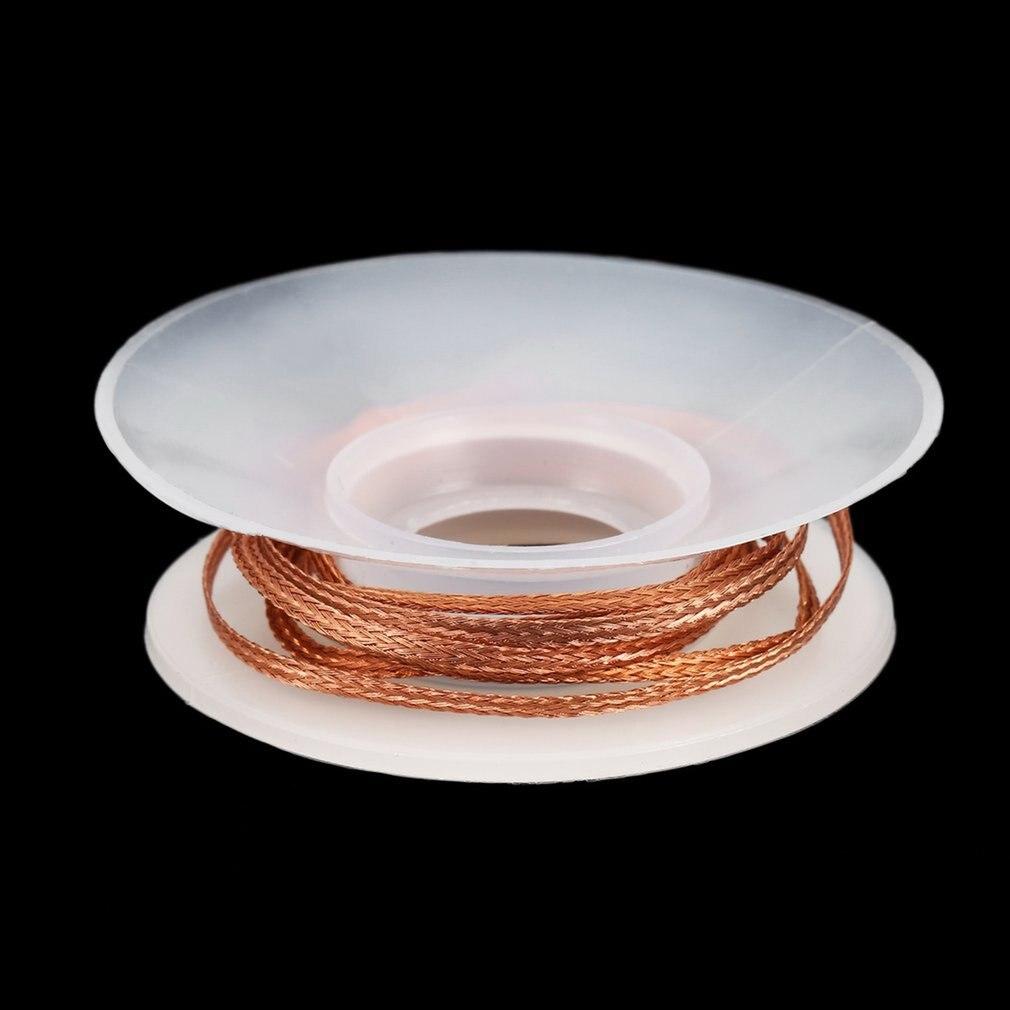 CP-2015 2.0MM Solder Wick Remover Desoldering Braid Wire Sucker Cable Soldering Remover Wick Accessory 0.75m