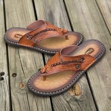Slippers Flip-Flops Comfortable Big-Size Fashion Summer 47 Microfiber Coslony Men