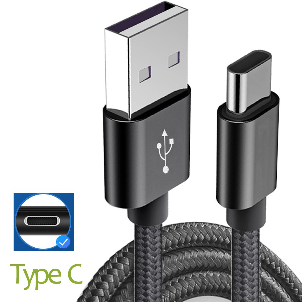 1M Type C Charging USB <font><b>Charger</b></font> Cable For <font><b>Nokia</b></font> <font><b>8.1</b></font> X7 7.1 6.1 X6 5.1 X5 7 plus 8 Sirocco 9 ZTE nubia X Z18 mini Axon 9 Pro image