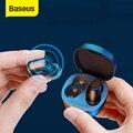 Baseus WM01 TWS Bluetooth Kopfhörer Stereo Wireless 5,0 Bluetooth Kopfhörer Touch Control Noise Cancelling Gaming Headset