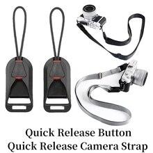 Quick Buckle Camera Strap For SLR Canon Nikon Pentax Fuji Wrist Strap Sony Leica Olympus Micro Single Strap Connector