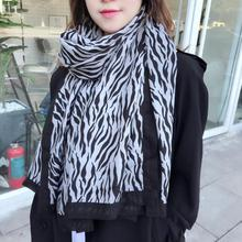 2019 Women scarves  fashion leopard design high quality cotton scarf large size pashmina long shawls wraps