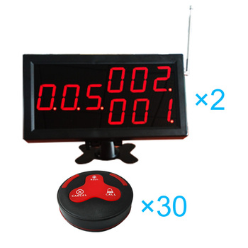 Long Range Electronic Call Bell Wireless Digital Calling Bell Remote Table Call System Service Caller System