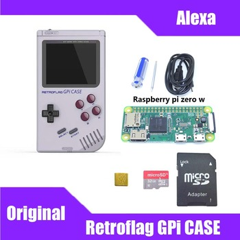 In Stock! Original Retroflag GPi CASE Kit with 32G Micro SD Card Heatsink Carrying Bag For Raspberry Pi Zero / Zero W raspberry pi zero wh built in wifi pre soldered headers type b micro sd card power adapter official case basic components