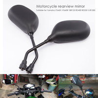 Motorcycle Rearview Mirrors Motorcycle Modified Mirror Durable Modified Rearview Mirror Exterior Parts Accessories 1 Pair 10mm