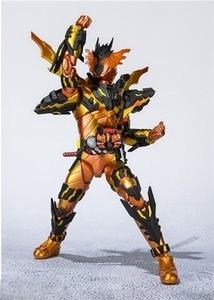 Image 3 - Аниме Kamen Rider фигурка SHF Build Cross Z Magma Фигурки ПВХ Коллекционная модель куклы 16 см