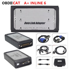 INLINE 6 Data Link Adapter Heavy Duty Diagnostic Tool Scanner INLINE6 Full 8 cable Truck Diagnostic interface inline6 inline 5