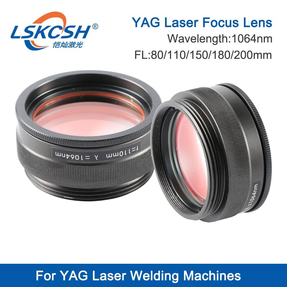 LSKCSH レーザー集束レンズ 1064 レーザー溶接機のフォーカスレンズ M46 3 レンズ複合 Scews M50 フォーカス 80 110 120 150 180 200 ミリメートル  グループ上の ツール からの レンズ の中 1