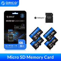 ORICO Micro SD Karte Speicher Karte 256GB 128GB 64GB 32GB 80 MB/S mini TF auto Micro sd karte Class10 flash karte Speicher 32GB TF Karte