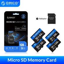 ORICO Micro SD Card Memory Card 256GB 128GB 64GB 32GB 80MB/S mini TF car Micro sd card Class10 flash card Memory 32GB TF Card